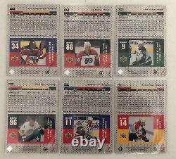 1996-97 Upper Deck Game Jersey Complète 13 Cartes. La Plupart D'entre Eux 2 Couleurs