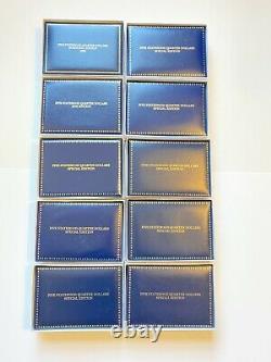 1999-2008 Ensemble Complet De 50 Quartiers D'état Colorisés Morgan Mint Certifié