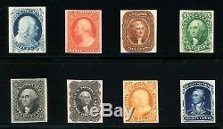 # 40p4-47p4, Complete 1875 Reprint Set, Xf, Des Couleurs Vives Et Son, 2020 Scott 425 $