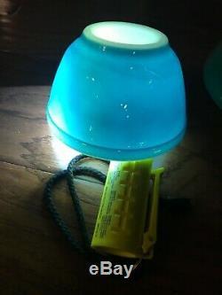5 Le Mélange Vintage Pyrex Nesting Bowls Couleurs Primaires Set Complet