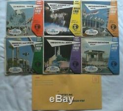 6 Voir Le Maître Packets De New York Exposition Universelle 1964-1965 Complete Set Rare