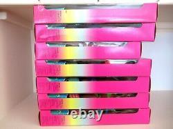 (7) Poupées Barbie. 1996 Splash'n Couleur Ensemble Complet. Barbie, Ken, Steven, Kira++