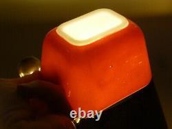 8-pc Complete Vintage Pyrex Primary Color Réfrigérateur Dish Set #501, 502, 503