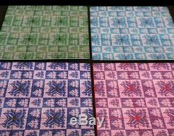 9 Panneau Psychedelephants Buvard Art Prints Tous Les 4 Variantes De Couleurs Ensemble Complet