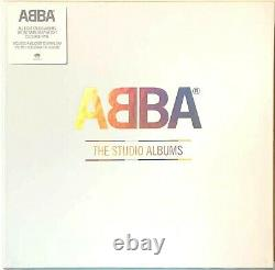 Abba The Studio Albums Boîte À Discographie Complete Record Colored Vinyl Lp