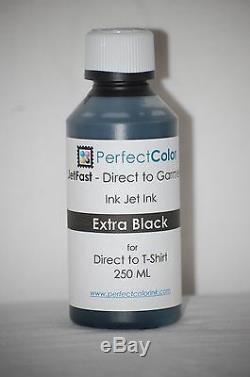 Accès Direct Au Vêtement Set Complet D'encre (dtg) 9 Bouteilles 250 ML De Ch De Couleur Parfaite