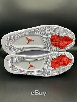 Air Jordan Retro 4 Vert, Orange, Violet, Ensemble Complet Rouge. Rare, Authentique