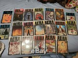 Akira 1-38 Ensemble Complet Marvel / Epic Comics Polychrome