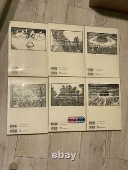 Akira Couleur Complète Ver. Technicolor Les 6 Volumes Complets Ensemble Première Édition Japon