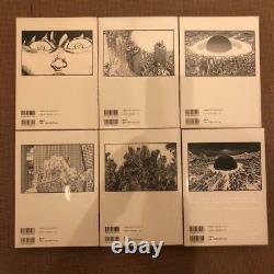 Akira Couleur Complète Ver. Technicolor Les 6 Volumes Complets Ensemble Première Édition Used