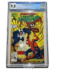 Amazing Spiderman 362 Cgc 9.8 2nd Carnage Venom Apparence Complète Votre Set 361