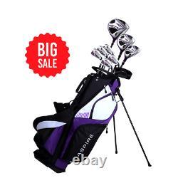 Aspire Xd1 Womens Ensemble Complet De Package Club De Golf À La Main Droite 3 Options De Couleur