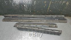 Audi A4 S-ligne B7 2004-08 Porte Inférieure Moulure Ensemble Couverture De Couleur Ly5j # G3b