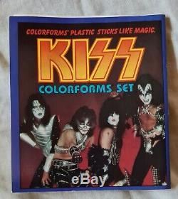 Baiser Aucoin Memorabilia- 1978 Formes Couleur Set- Complete- Vintage- Rare