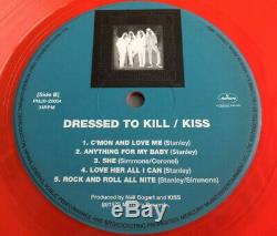 Baiser Japonais Originaux 1974-1979 De Couleur Vinyle Lp Box Set Complet Japon