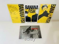 Banana Fish Reimprimé Box Vol 1-4 Ensemble Complet Manga Comics Animé Shogakukan