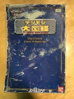 Bandai The Digimon Complete Box Le Jeu De 49 Figurines De Couleur Numérique Monster