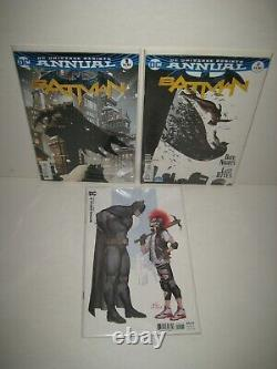 Batman #1-110 + Extras Ensemble Complet Tom King Run Lot Issues DC Rebirth 93 ++