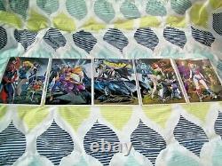 Batman #50 Complet J Scott Campbell Variante De Connexion Cvr Set Signé Avec Coa Bx3