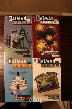 Batman Le Long Ensemble Complet D'halloween #1-13 Tout Dans La Gamme Nm