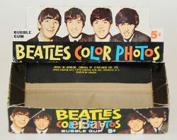 Beatles Millésime Box Cartes Couleur Négociation 1964 + Ensemble Complet De Cartes + Emballage