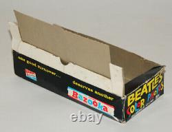 Beatles Vintage 1964 Color Trading Cards Box + Ensemble Complet De Cartes + Wrapper
