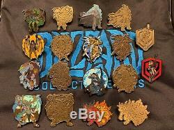 Blizzard Collection Pins Série 1 Ensemble Complet Comprend Toutes Les Broches De Couleur Et D'or