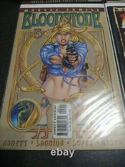 Bloodstone #1-4 Série Mini Complète 1ère Apparition Elsa Bloodstone 2001 Vf/nm
