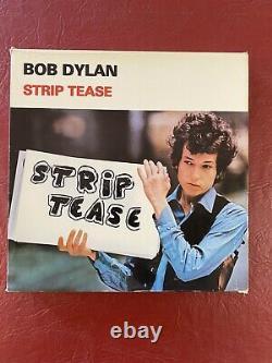 Bob Dylan Strip Tease Tmoq Complete 10 Red & Clear Color Ensemble De Boîte En Vinyle Lp