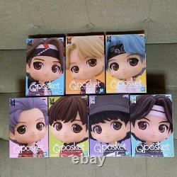 Bts Tinytan Q Posket Figurine Doll A Couleur Complete Premium 7 Set Banpresto V Kook