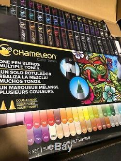 Caméléon Art Products, Caméléon Teintes Ensemble Complet 52 Stylos A10