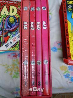Ce Bibliothèque Mad Complete 4 Volume Noir Et Blanc + Set Couleur Avec Slipcase