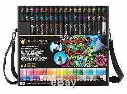 Chameleon Color Tones 52 Set De Stylos De Luxe Avec Étui Et Lanière
