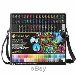 Chameleon Color Tones Markers Ensemble Complet De 52 Po Dans Le Boitier Ct5201