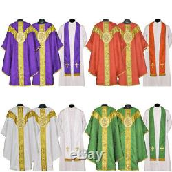 Chasuble Complete Set All 4 Couleurs