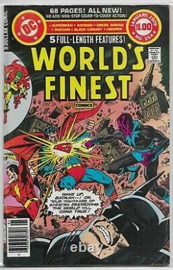 Comics Les Plus Fins Du Monde #245-282 100% Complete (no 244) Shazam Zatanna Creeper