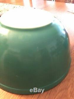 Complet Set 4 Couleurs Verre Pyrex Vintage Primaire Saladiers 1950