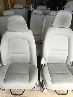 Complete Car Seat Set Pour Suzuki Xl7 2007 09 Couleur Gris Tissu
