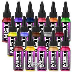 Complete Nail Art Airbrush Kit 16 Couleurs 240 Pochoirs Set Avec Compresseur