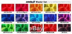 Couleurs Auto-air 2oz. Candy2o Complete Master Set Peintures Personnalisées Par Createx