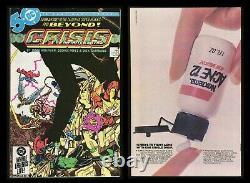 Crise Sur Les Terres Infinites Comic Set 1-2-3-4-5-6-7-8-9-10-11-12 George Perez Art