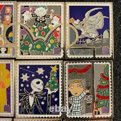 Disney Pin Trading Stamp Collection Nbc Présente Complet Ensemble En Couleur