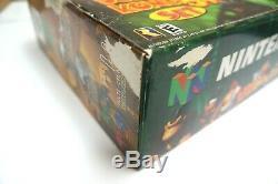 Donkey Kong Jungle N64 Couleur Set Complet