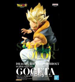 Dragon Ball Super Broly Gogeta Figue Special Couleur Ver. 2 3réglez Complète Japon