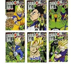 Dragon Ball Vol Cell Couleur. 1-6 Ensemble Complet Akira Toriyama Manga Japonais