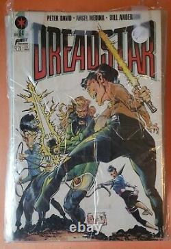 Dreadstar #1-64, Ensemble Complet Annuel #1 Vf-nm 1982 Marvel Comics Jim Starlin