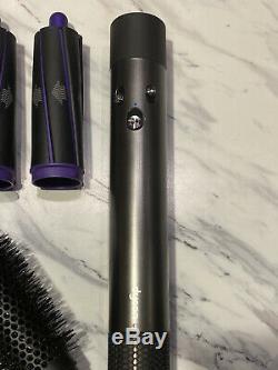 Dyson Airwrap Complet Styler Violet Difficile De Couleur Utilisé Find Une Seule Fois