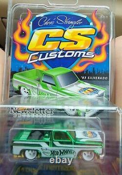 Ensemble Complet 6 Couleurs Tous Ont #57. Roues Chaudes 1983 Chevy Silverado Dinner Car