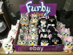 Ensemble Complet À La Menthe De 24 Bourgeons De Première Génération 1999 Furby, Toutes Les Couleurs Des Yeux