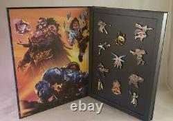 Ensemble Complet Blizzard Blizzcon Pins Series 1 2 3 4 5 6 Murky Color & Gold & Bag